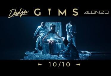 GIMS ft. Dadju & Alonzo - 10/10 | videoclip