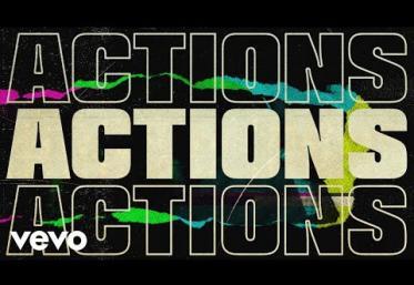 John Legend - Actions | lyric video