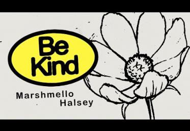 Marshmello & Halsey - Be Kind  | lyric video