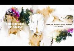 Armin van Buuren & Nicky Romero  ft. Ifimay - I Need You To Know | piesă nouă