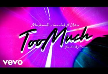Marshmello, Imanbek ft. Usher - Too Much | lyric video