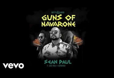 Sean Paul, Jesse Royal, Mutabaruka - Guns of Navarone | piesă nouă