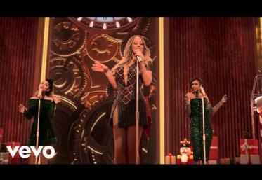 Mariah Carey ft. Ariana Grande, Jennifer Hudson - Oh Santa!   videoclip