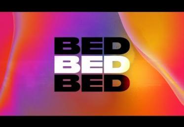 Joel Corry x RAYE x David Guetta - BED | lyric video