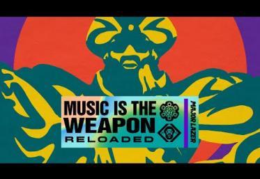 Major Lazer feat. Moonchild Sanelly & Morena Leraba - Hands Up | lyric video