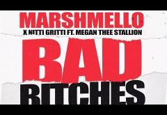 Marshmello x Nitti Gritti feat. Megan Thee Stallion - Bad Bitches | lyric video