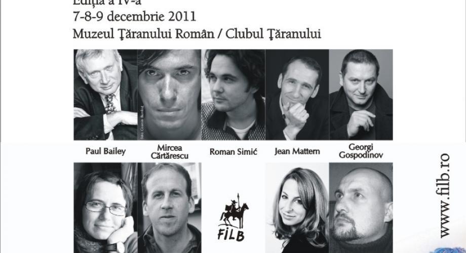 Incepe Festivalul International de Literatura
