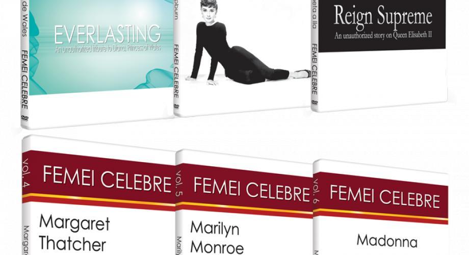 """""""Femei celebre"""", o colecţie de excepţie"""