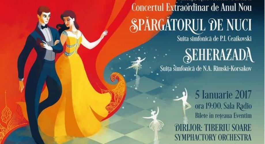 Feerie și suite muzicale romantice într-un concert extraordinar de Anul Nou