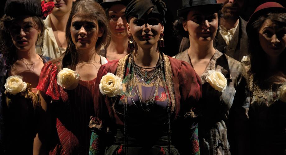 """""""Nastasia"""", în premieră la Teatrul Masca"""