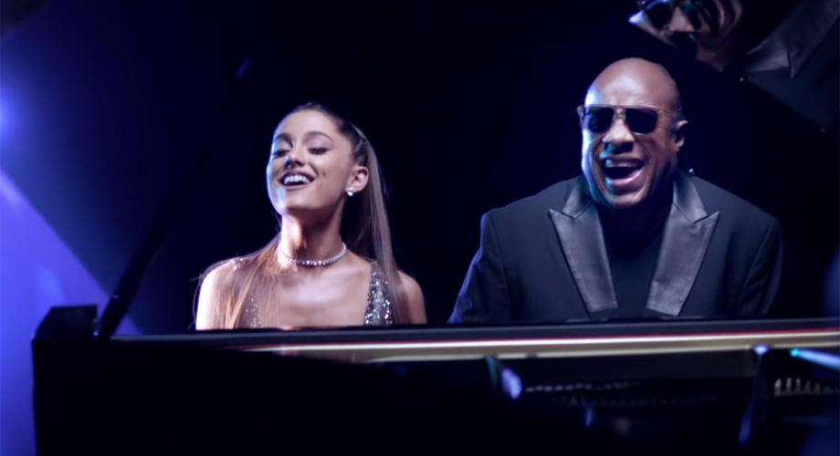Stevie Wonder & Ariana Grande - Faith (Video)
