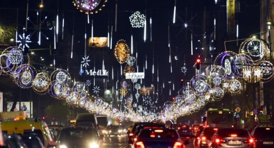 Bucureștiul, în topul celor mai împodobite capitale de sărbători
