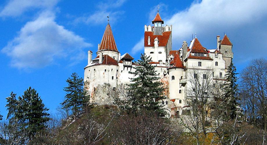 Castelul Bran se numără printre cele mai frumoase din Europa
