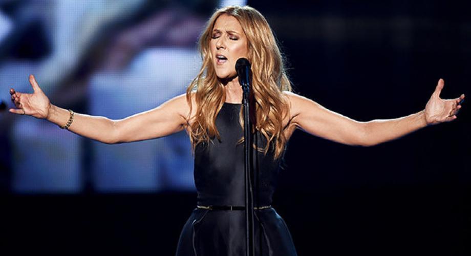 Momente memorabile susţinute de Celine Dion live!