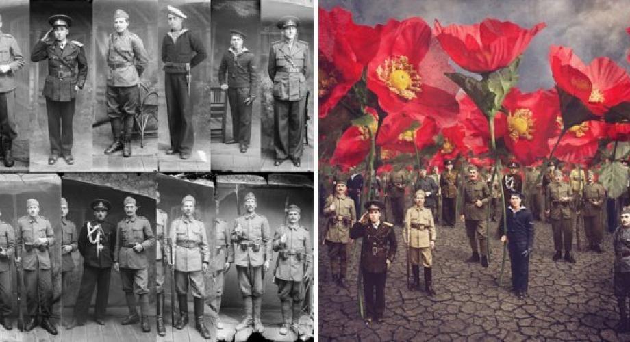 Tablouri de viață în fotografii românești ce au cutreierat lumea