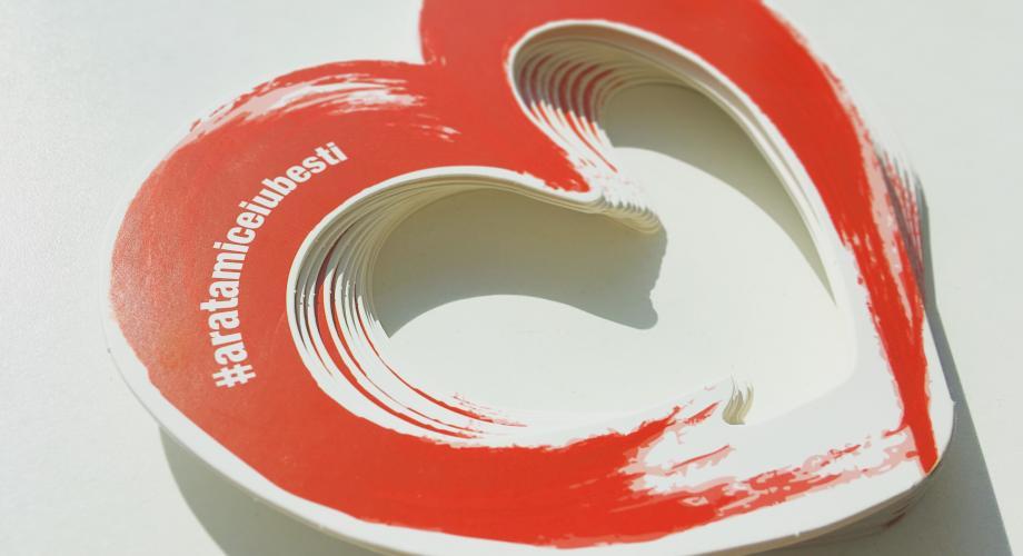 Găsește inima Romantic FM împreună cu Șapte Seri