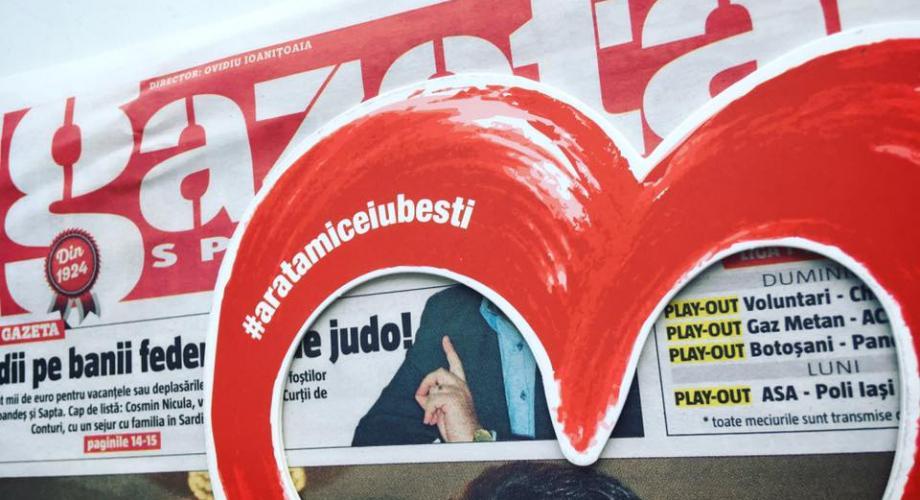 Găsește inima Romantic FM cu Gazeta Sporturilor!