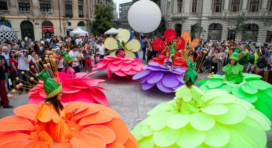 Festivalul internaţional de teatru de stradă în Capitală