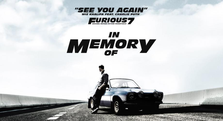 """See You Again"", cel mai vizionat clip"