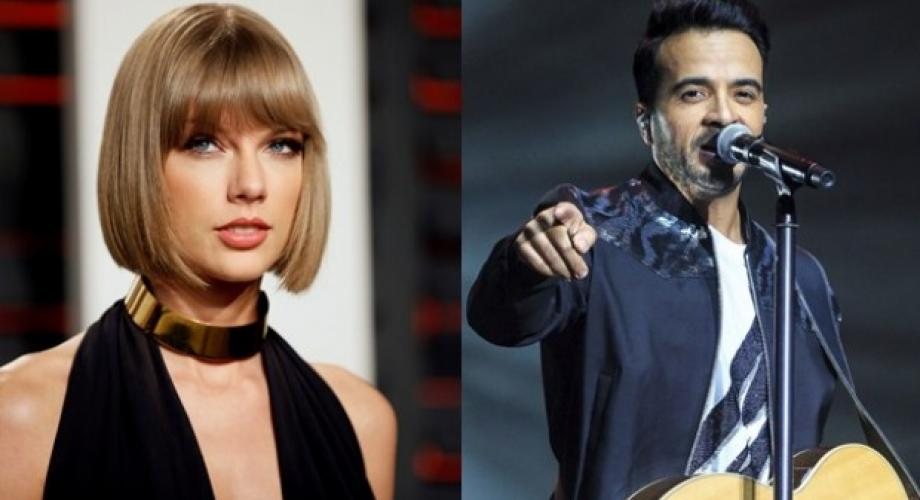 Taylor Swift l-a detronat pe Luis Fonsi în top Hot 100