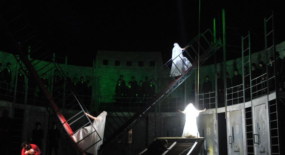 """,,Lucia di Lammermoor"""" în regia lui Andrei Șerban, pe scena Operei Naționale București"""