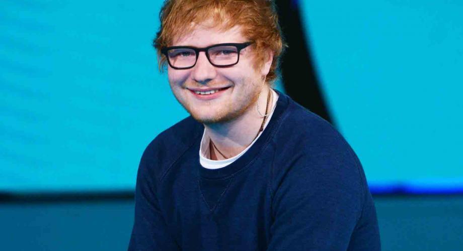 Ed Sheeran este Membru al Ordinului Imperiului Britanic