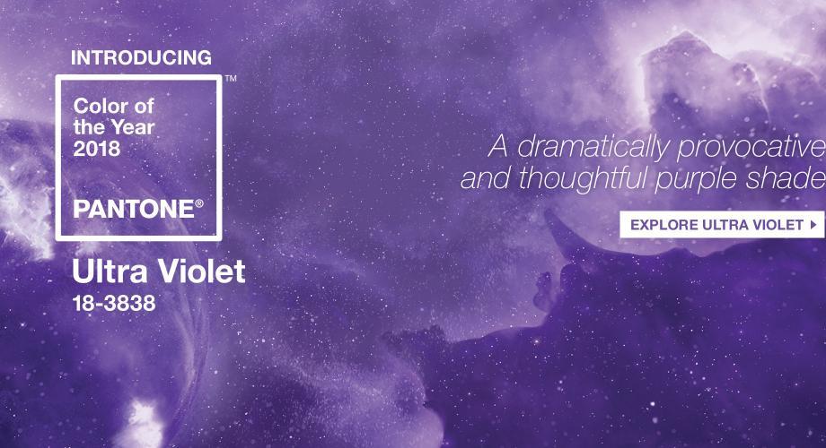Ultra violet, culoarea anului 2018 (VIDEO)