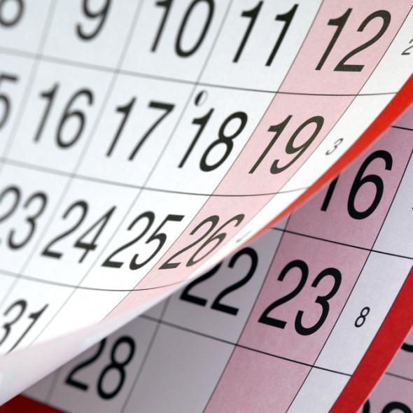 Câte zile libere sunt în calendarul anului 2018?