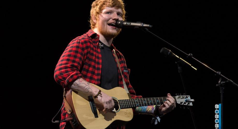 Ed Sheeran a început anul la superlativ