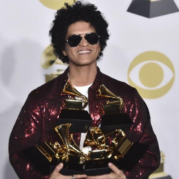 Bruno Mars este marele învingător al galei Grammy 2018