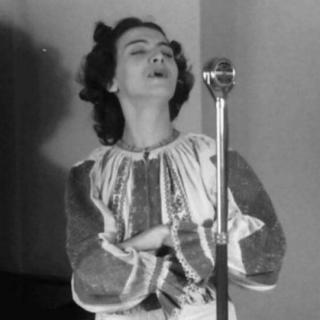 80 de ani de la debutul Mariei Tănase la radio!