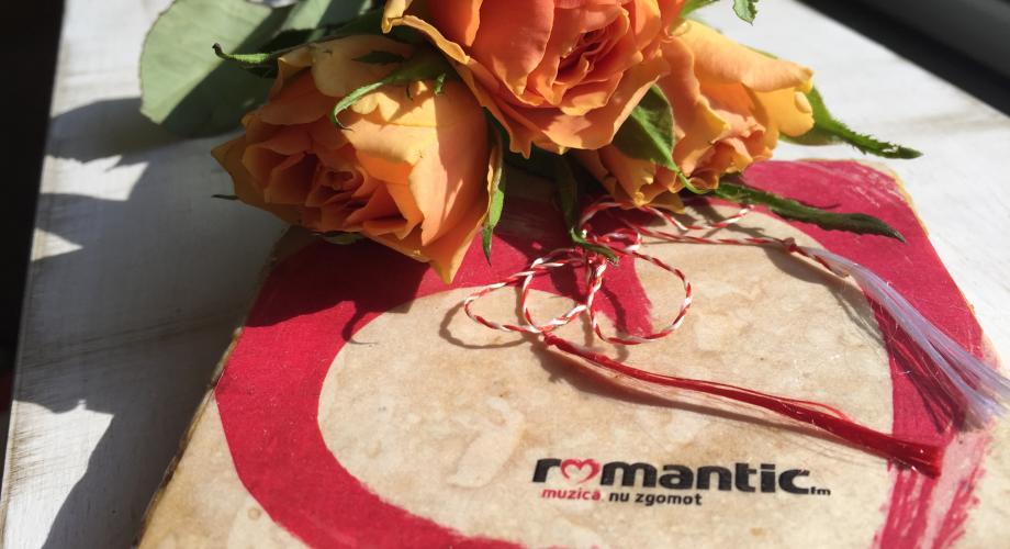 La Romantic FM, cântecele aduc mărțișoare cu dragoste!