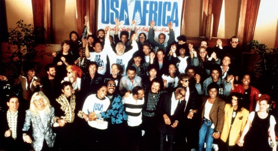 """Artists for Africa - """"We Are The World"""" (Video)"""