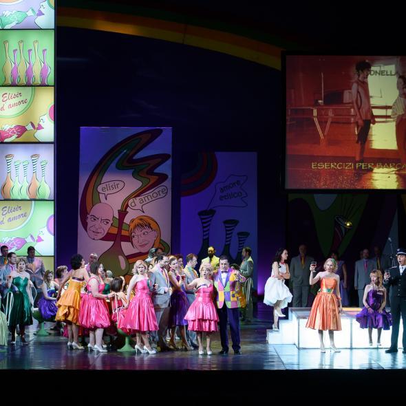 """Romantic FM vă invită la """"Elixirul dragostei"""", pe scena Operei Naționale"""