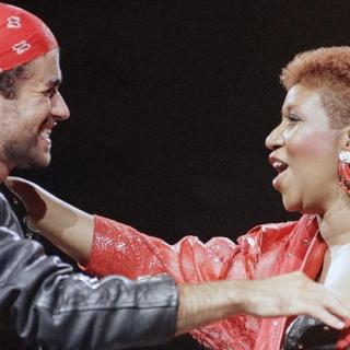"Aretha Franklin & George Michael - ""I knew you were waiting"" (Video)"