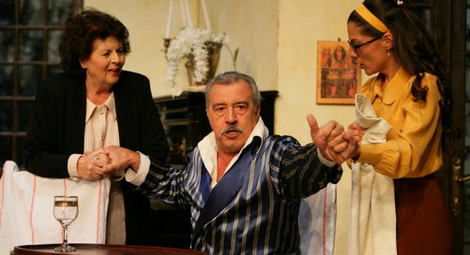 """""""Omul care a văzut moartea"""", de Victor Eftimiu, pe scena TNB!"""