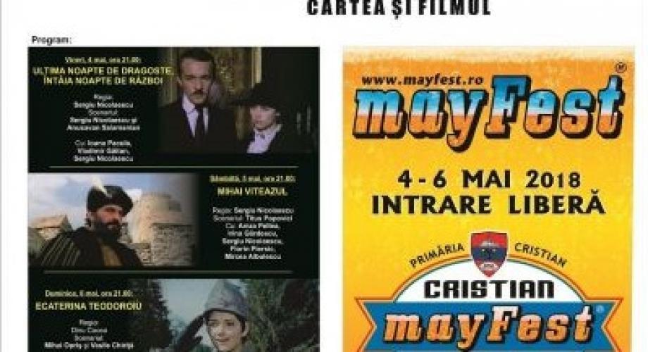 Caravana filmului românesc, în premieră la mayFest