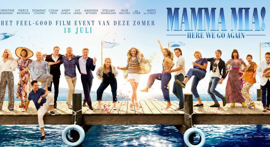 """Coloana sonoră a filmului """"MAMMA MIA! Here We Go Again"""" apare în această vară!"""