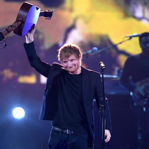 Ed Sheeran, marele învingător al premiilor Billboard 2018
