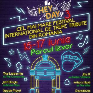 HeyDay Music Festival, în Parcul Izvor