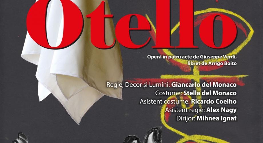 """Opera Națională București deschide noua stagiune cu premiera spectacolului """"Otello"""""""