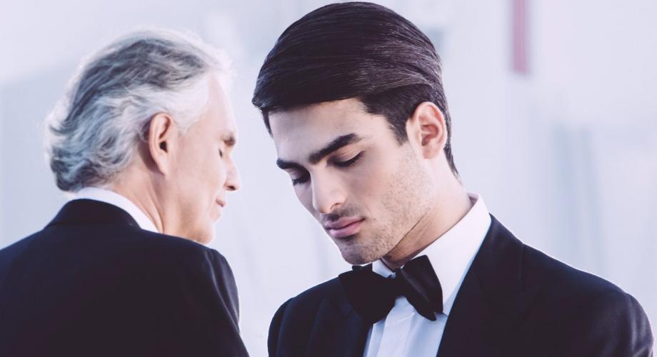 Andrea Bocelli a lansat primul duet cu fiul său, Matteo