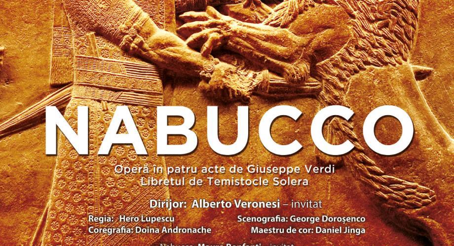 """""""Nabucco"""", pe scena Operei Naționale București"""