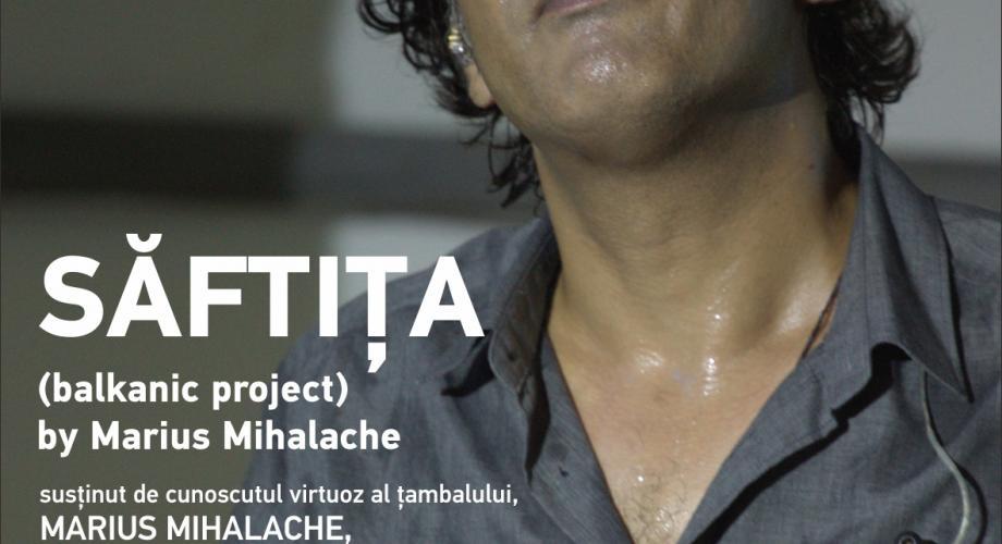 SĂFTIȚA lui Marius Mihalache revine pe scena Teatrului Naţional din Capitală!