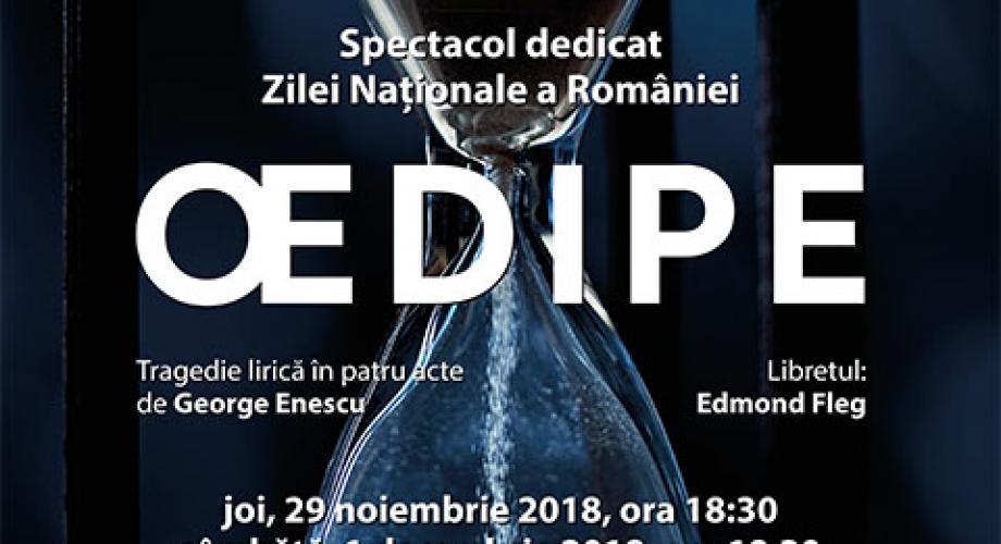 """""""Oedipe""""-ul lui Enescu, pe scena Operei Naționale București"""
