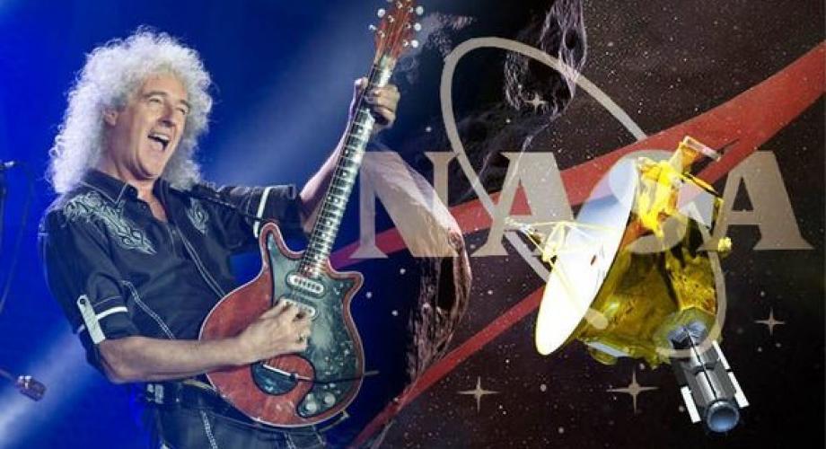"""""""New Horizons"""", noua piesă lansată de Brian May, va fi difuzată în premieră la centrul de control NASA"""