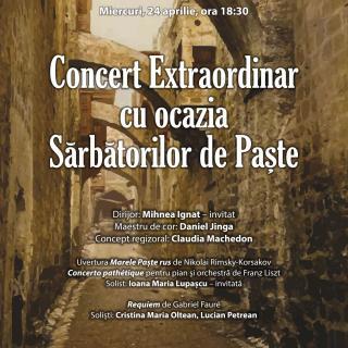 Concert extraordinar de Paște pe scena Operei Naționale București