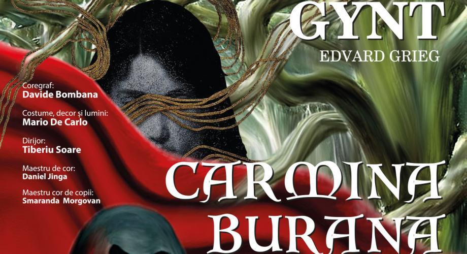 """""""Peer Gynt"""" și """"Carmina Burana"""", într-o nouă montare pe scena Operei Naționale"""