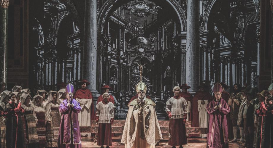 """""""Tosca"""", cea mai puternică operă a lui Puccini, pe scena Operei Naționale București"""