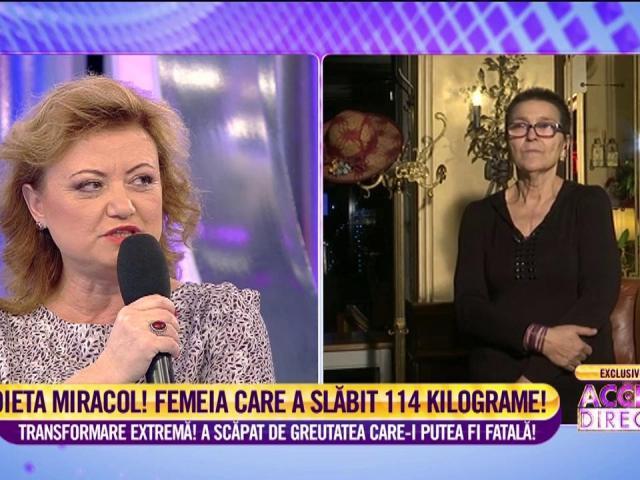 Femeia în vârstă de 54 de ani nu poate slăbi